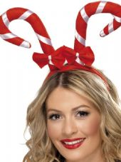 Candy Cane Head Band